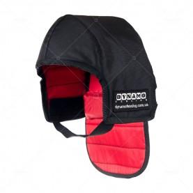Протектор фехтовальный на маску для ножевого боя  с красной подкладкой