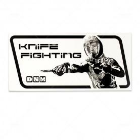"""Наклейка  на авто """"Knife fighting"""""""