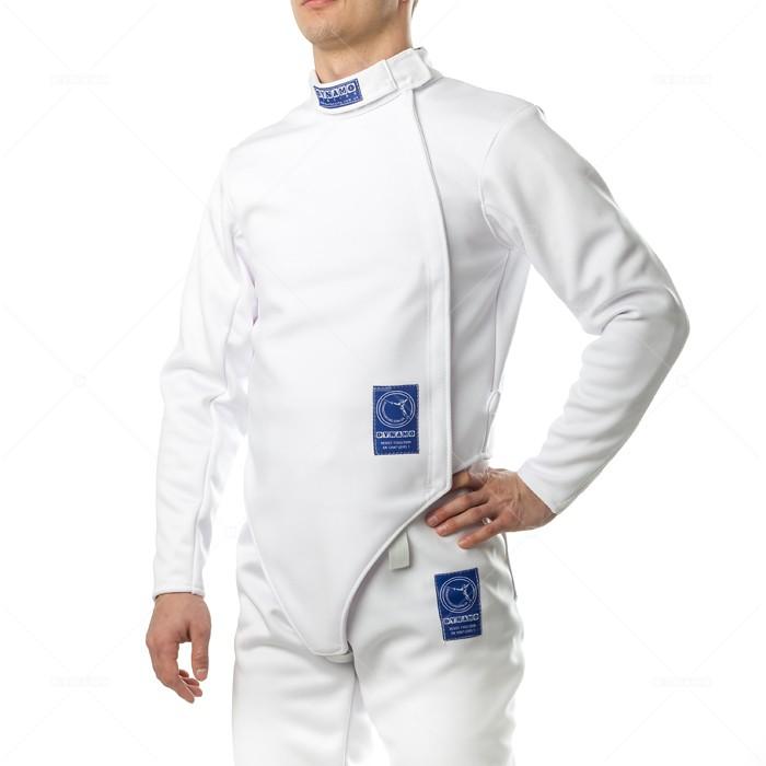 Куртка фехтовальная (350 Н) DYNAMO детская