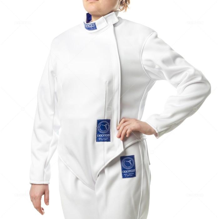 Куртка фехтовальная (350 Н) DYNAMO женская