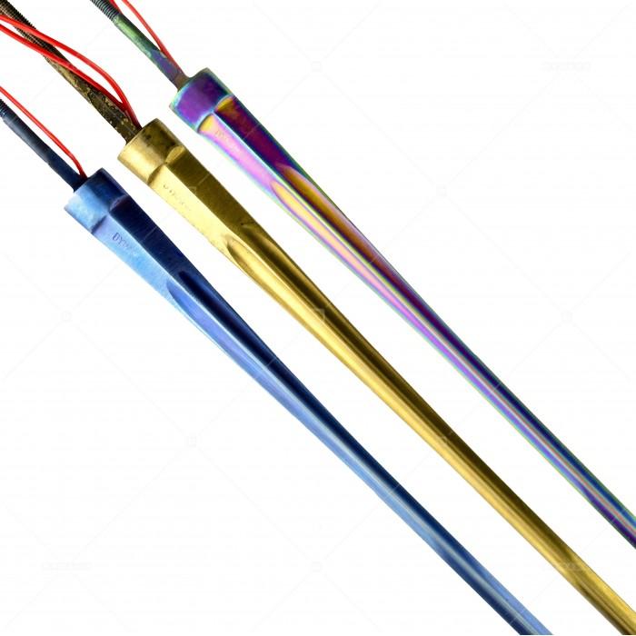 Клинок DYNAMO  шпаги электрический проклеенный (наконечник Allstar, проклейка Allstar) цветной
