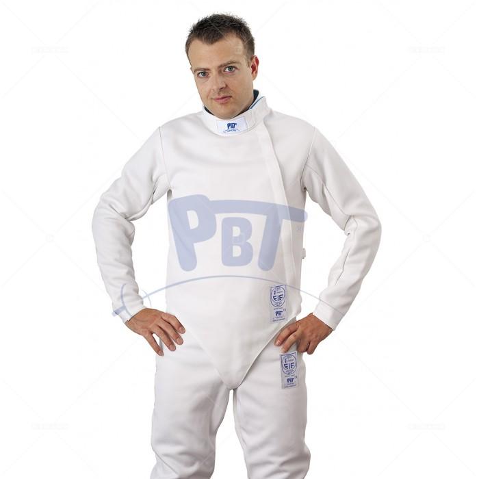 """Куртка фехтовальная FIE """"SUPERLIGHT"""" (800 Н) PbT мужская"""