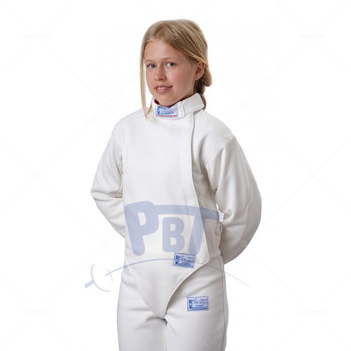 Куртка  фехтовальная  PBT  из эластичного материала (350 Н) детская