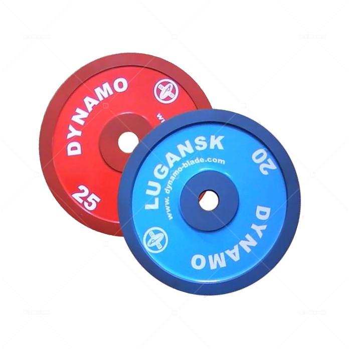 Диск металлический окрашенный 0,5 - 25 кг DYNAMO