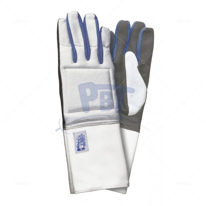 Перчатка  моющаяся PBT серо-синяя