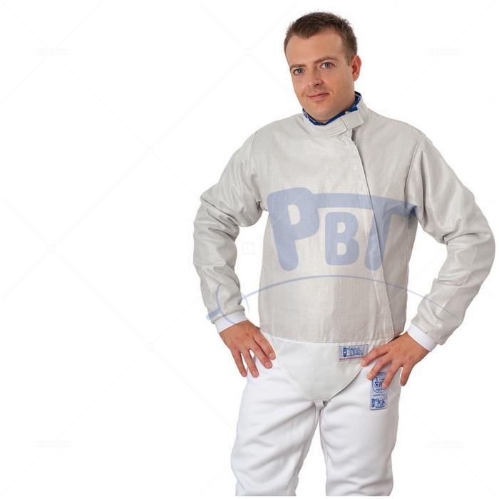 Электрокуртка мужская сабельная Inox PBT, моющаяся  белая