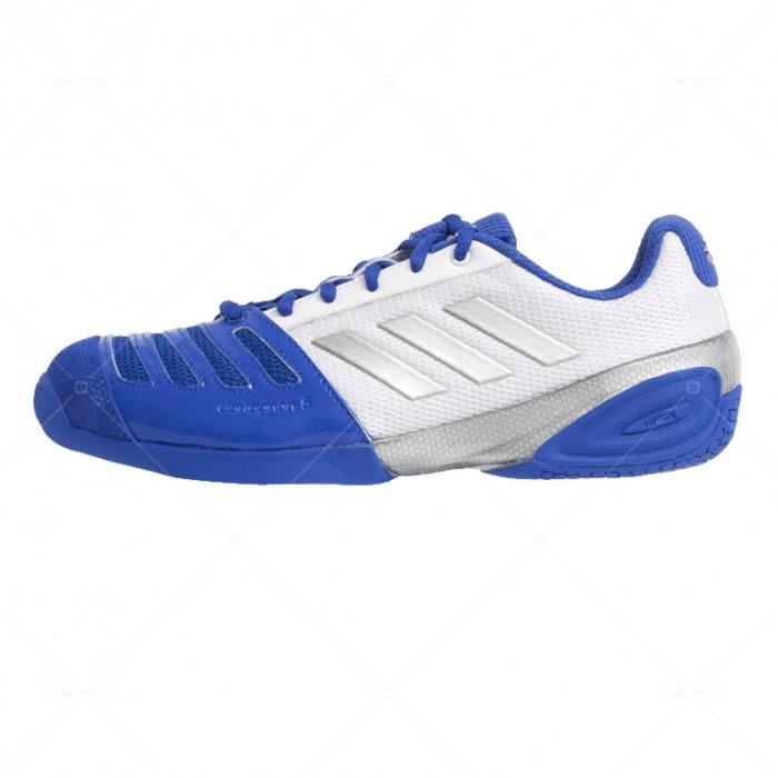 Кроссовки для фехтования Дартаньян V Adidas бело-голубые